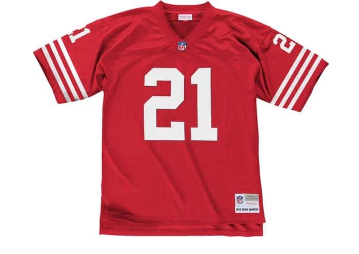online store 93bfc 8900b Deion Sanders 1994 Legacy Jersey San Francisco 49ers ...