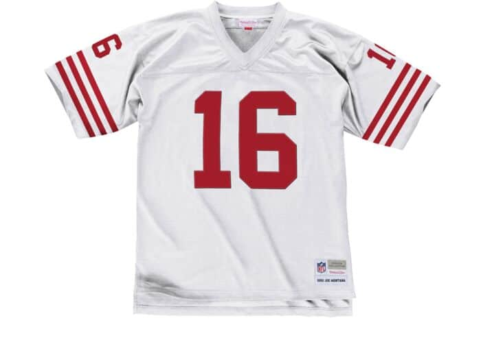 innovative design a8a5e 3b980 Joe Montana 1990 Legacy Jersey San Francisco 49ers Mitchell ...