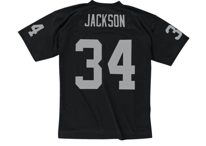 new style 1560d 8b020 Bo Jackson 1988 Legacy Jersey Los Angeles Raiders Mitchell ...