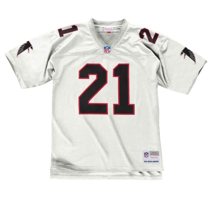 the latest 91a4c 6f207 Deion Sanders 1992 Legacy Jersey Atlanta Falcons Mitchell ...