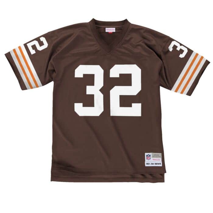 wholesale dealer 63c83 b3671 Jim Brown 1963 Legacy Jersey Cleveland Browns Mitchell ...