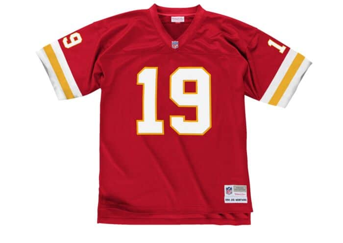 watch a588a ea6e5 Joe Montana 1994 Legacy Jersey Kansas City Chiefs