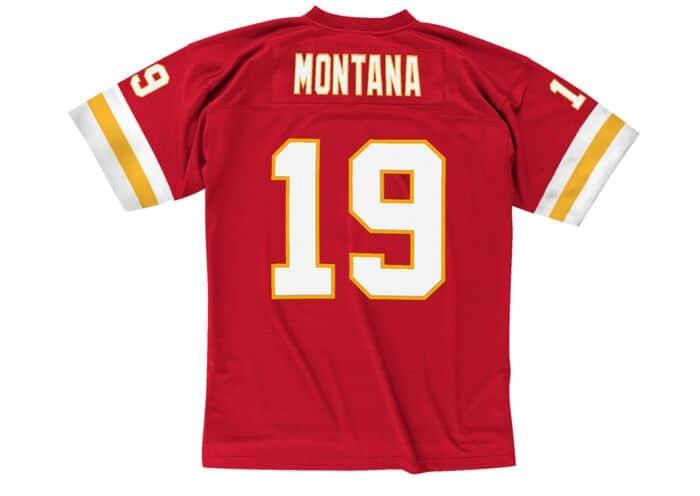 watch f2d2e 8699d Joe Montana 1994 Legacy Jersey Kansas City Chiefs