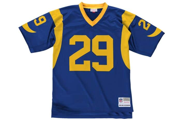 hot sale online 59829 3985a Eric Dickerson 1984 Legacy Jersey Los Angeles Rams Mitchell ...