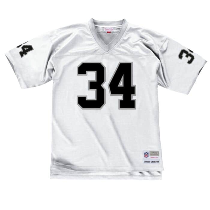 new style a9287 44a31 Bo Jackson 1988 Legacy Jersey Los Angeles Raiders Mitchell ...