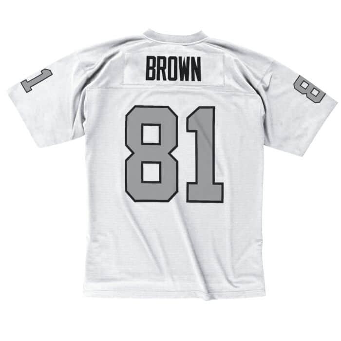 quality design 9ad27 b0bf9 Tim Brown 1994 Legacy Jersey Los Angeles Raiders Mitchell ...