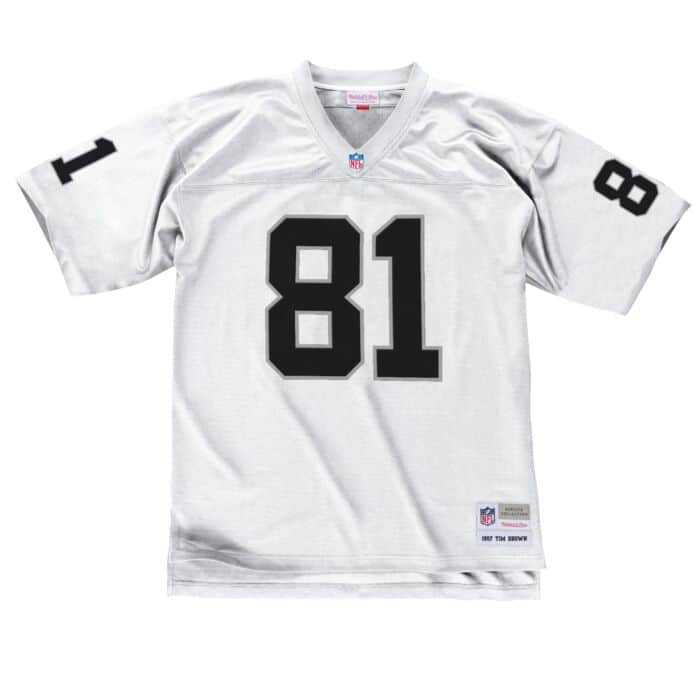 cheap for discount 56508 12755 Tim Brown 1997 Legacy Jersey Oakland Raiders Mitchell & Ness ...