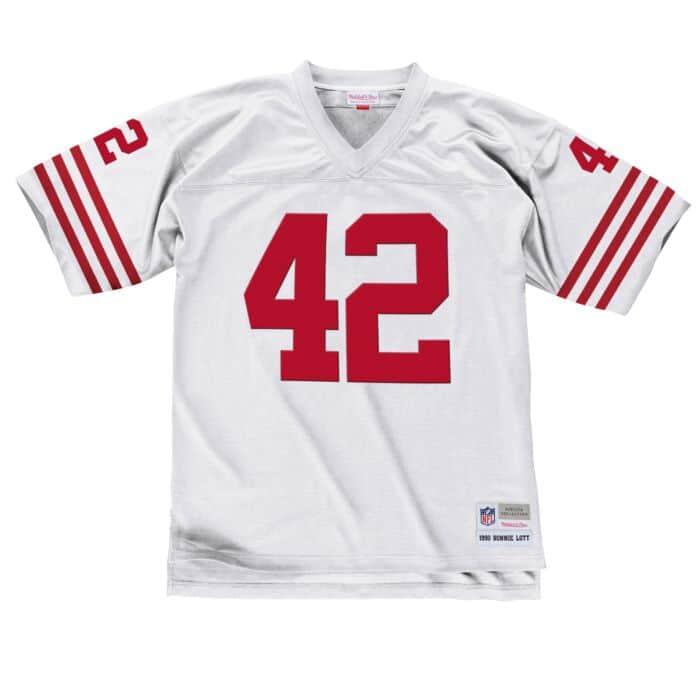 new styles deea6 55f8b Ronnie Lott 1990 Legacy Jersey San Francisco 49ers Mitchell ...