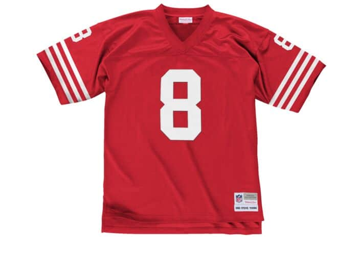new product a18da 953d5 Steve Young 1990 Legacy Jersey San Francisco 49ers Mitchell ...