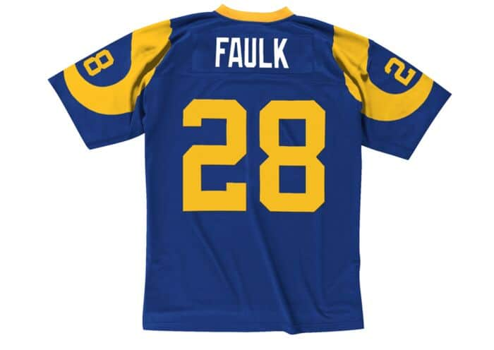 competitive price 54b2b 2c8a6 Marshall Faulk 1999 Legacy Jersey St. Louis Rams Mitchell ...