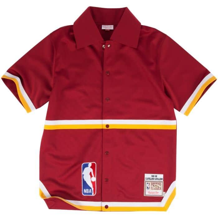 best service 3669f 6efec 1981-82 Authentic Shooting Shirt Cleveland Cavaliers