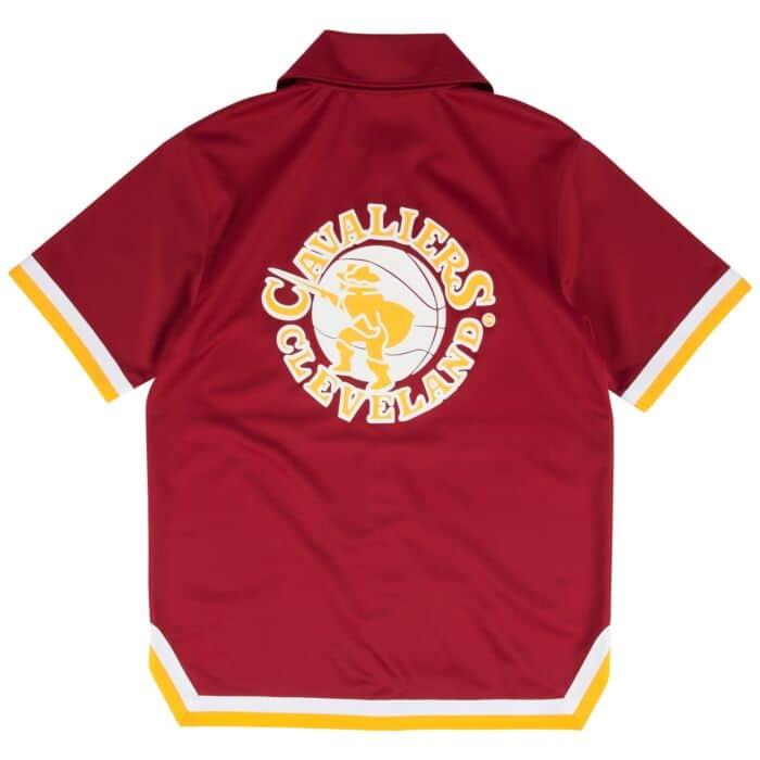 best service 78293 d80a6 1981-82 Authentic Shooting Shirt Cleveland Cavaliers