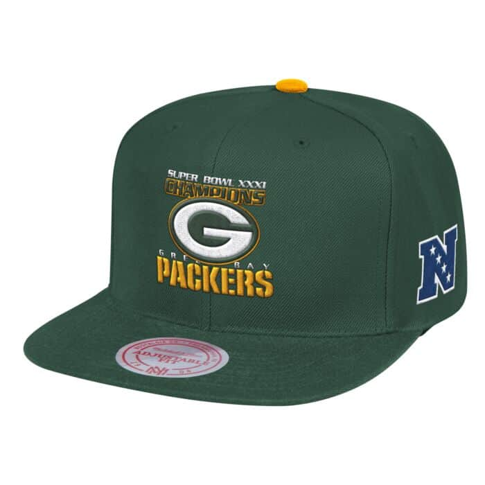 factory authentic 4283e 0adf0 Super Bowl Snapback Green Bay Packers