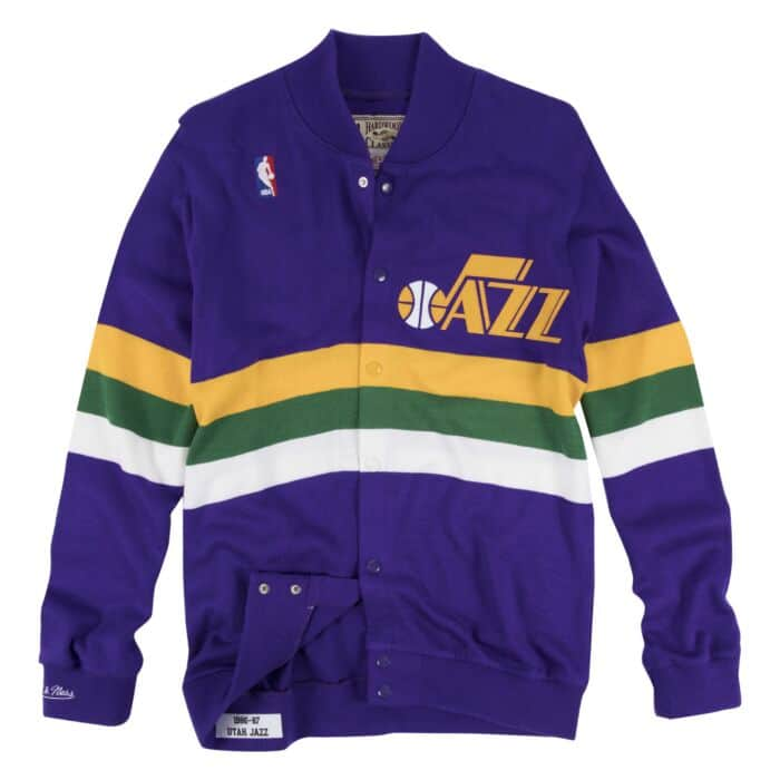 hot sale online df281 6a057 Authentic Sweater 1986 Utah Jazz Mitchell & Ness Nostalgia Co.