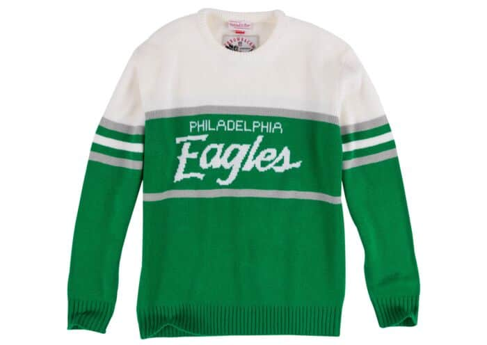 the latest bd7d2 f0665 1988 Authentic Sweater Philadelphia Eagles Mitchell & Ness ...