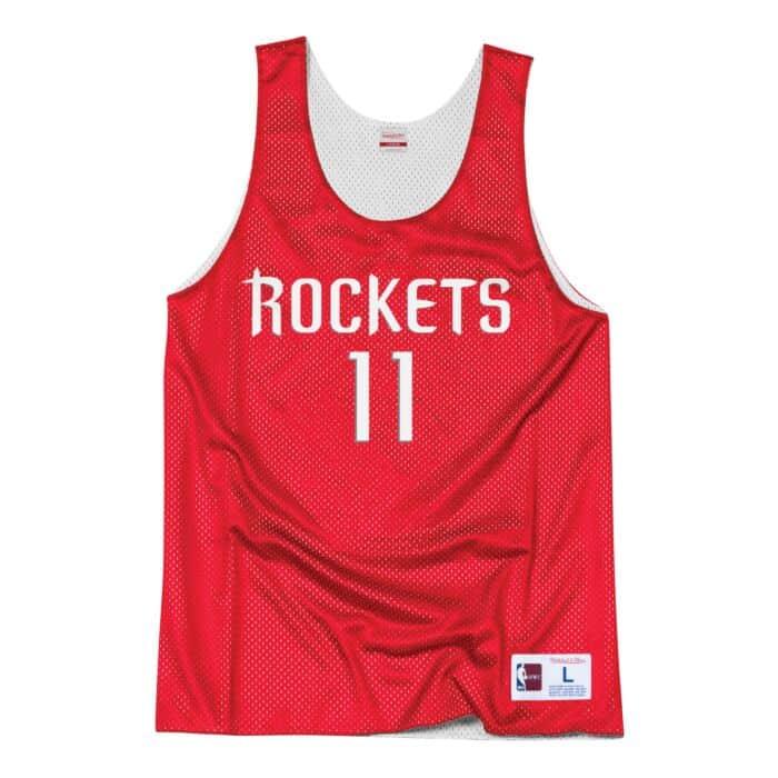 uk availability bcfcc a0146 Yao Ming All-Star Reversible Tank Houston Rockets Mitchell ...