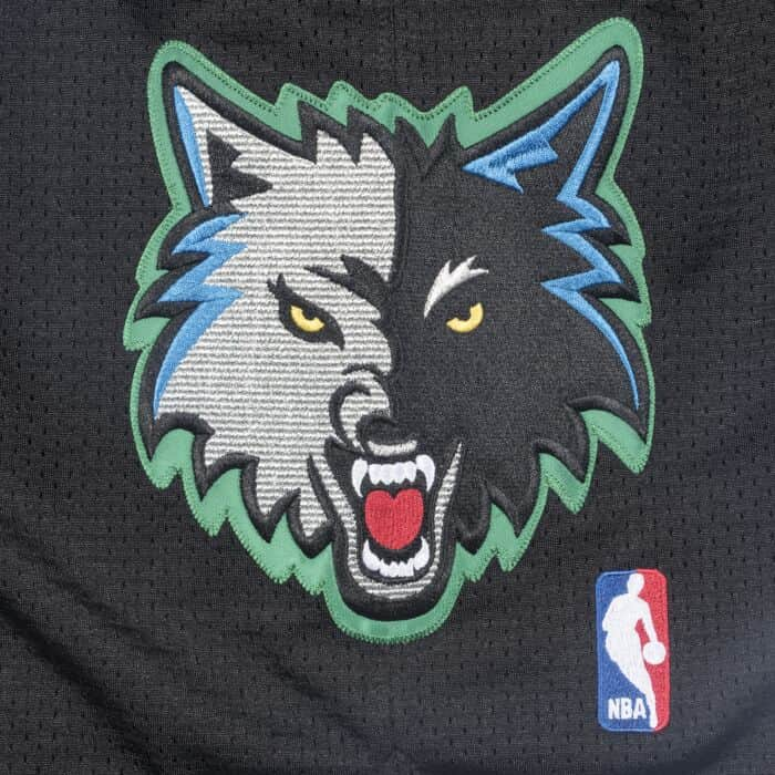 1e56d287a 2003-04 Minnesota Timberwolves Alternate Authentic Shorts Mitchell ...