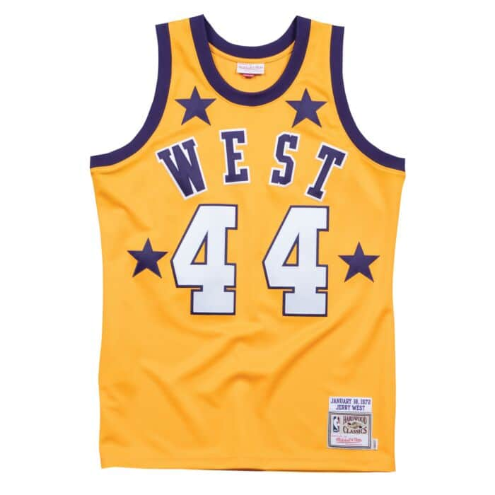 reputable site 515fe b0fc3 Jerry West 1972 All Star West Authentic Jersey