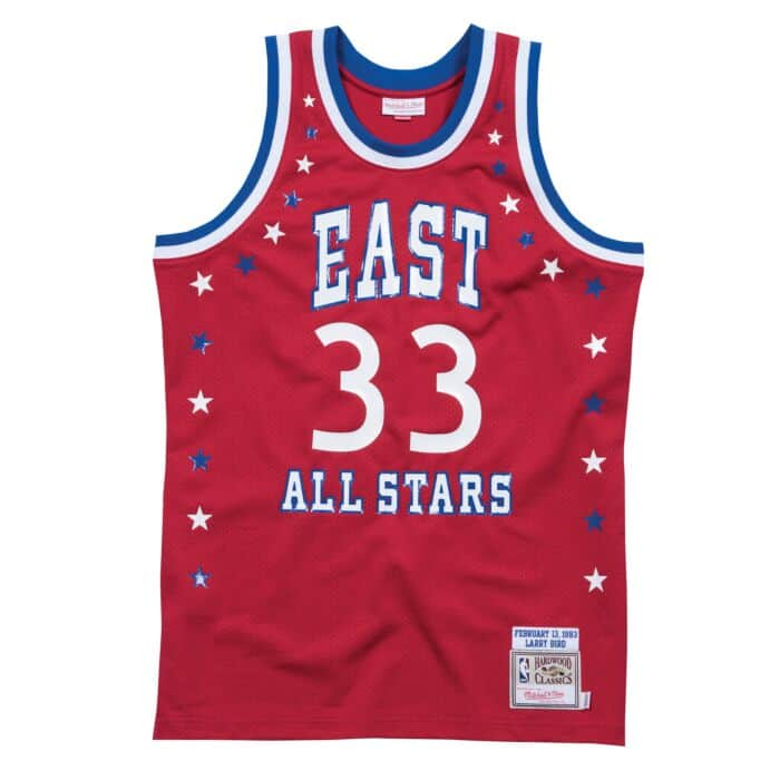 huge discount fabdc d8adc Larry Bird 1983 All Star East Authentic Jersey