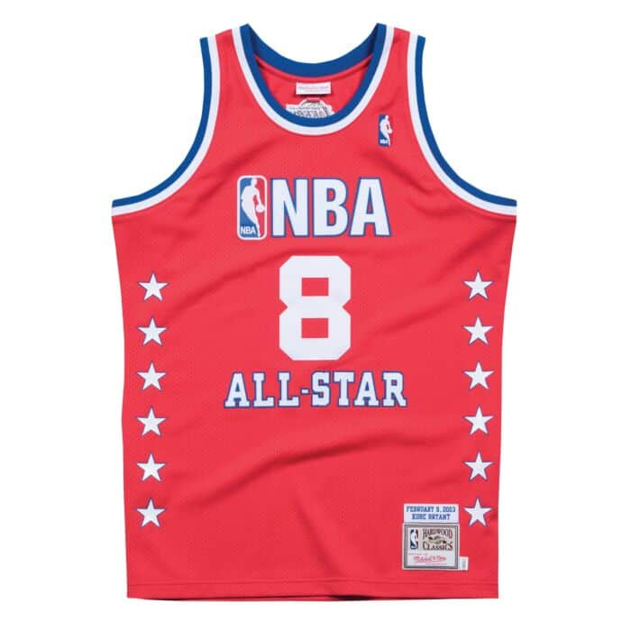 huge selection of 05247 688d0 Kobe Bryant 2003 All Star West Authentic Jersey