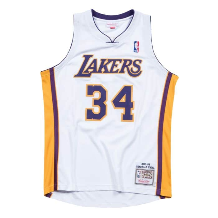 sports shoes c59ce 8d04f Shaquille O'Neal 2003-04 Los Angeles Lakers Authentic Jersey
