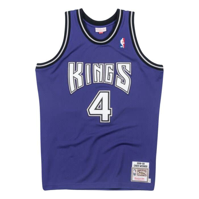 new arrival 5cfb3 03ebd Chris Webber 1998-99 Sacramento Kings Alternate Authentic Jersey