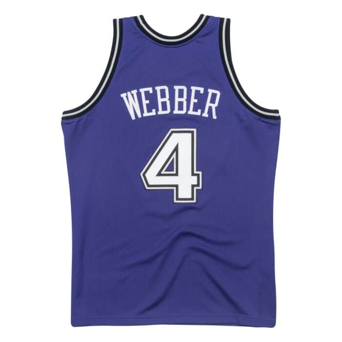 new arrival f13d9 bb962 Chris Webber 1998-99 Sacramento Kings Alternate Authentic Jersey