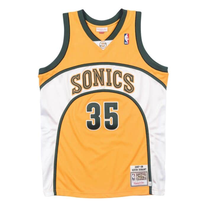 new arrivals 46268 79c56 Kevin Durant 2007-08 Seattle Supersonics Alternate Authentic Jersey