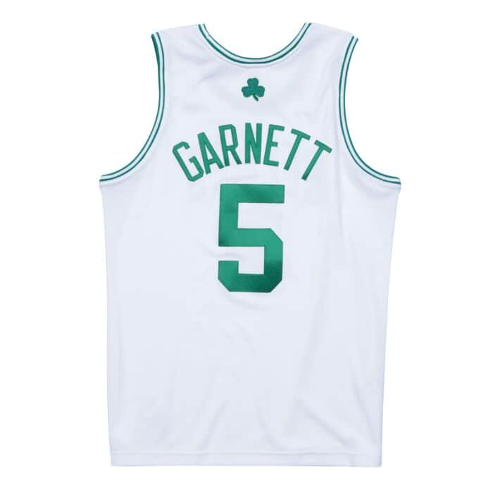 newest 5844d 7a0f5 Kevin Garnett 2007-08 Boston Celtics Authentic Finals Jersey