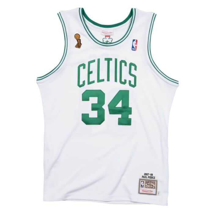 huge discount 6e444 8652e Paul Pierce 2007-08 Boston Celtics Authentic Finals Jersey