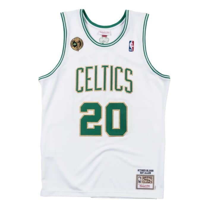 sports shoes 72903 03981 Authentic Jersey Boston Celtics Home 2008-09 Ray Allen