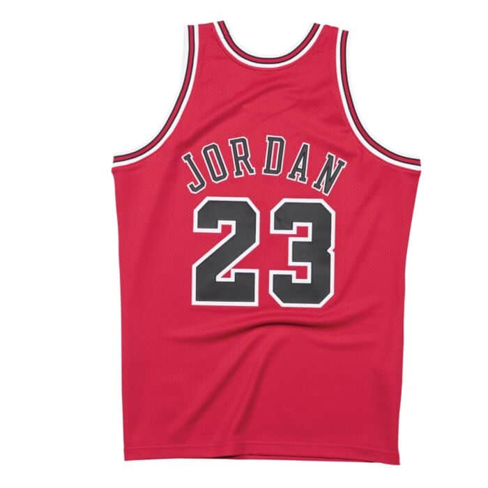 brand new f848c dfe1e Authentic Jersey Chicago Bulls Road Finals 1997-98 Michael Jordan
