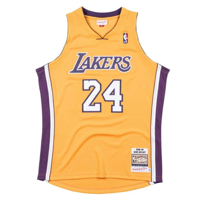 brand new fa35b b9b13 Authentic Jersey Los Angeles Lakers Home 2008-09 Kobe Bryant