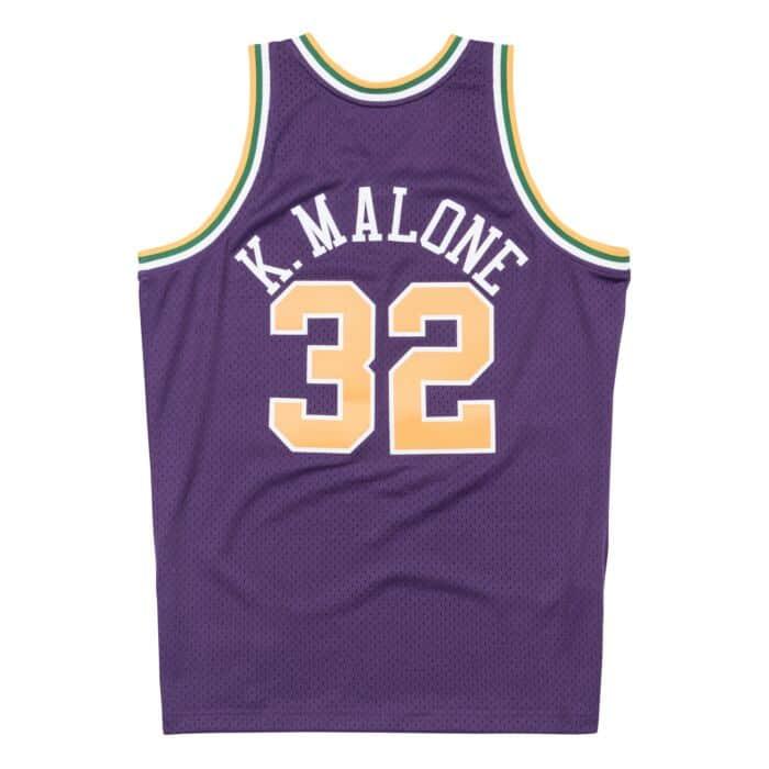 sports shoes ccd1a 7aa3c Swingman Jersey Utah Jazz Road 1991-92 Karl Malone Mitchell ...