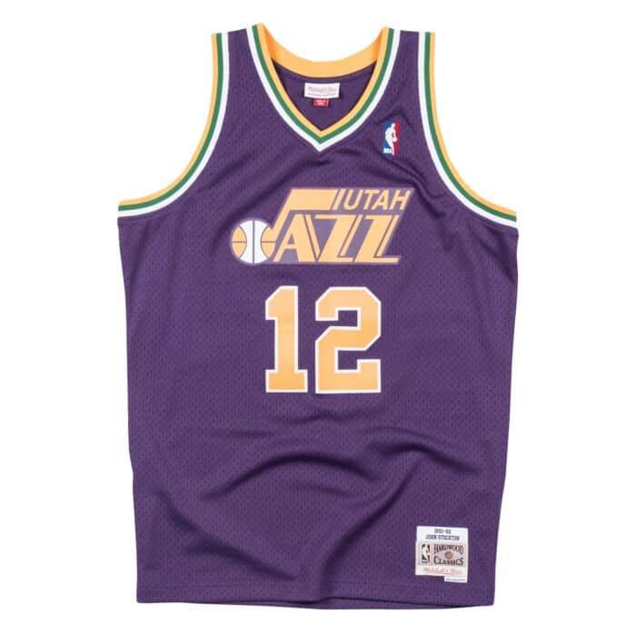 quality design 12602 4e3bc Swingman Jersey Utah Jazz Road 1991-92 John Stockton ...