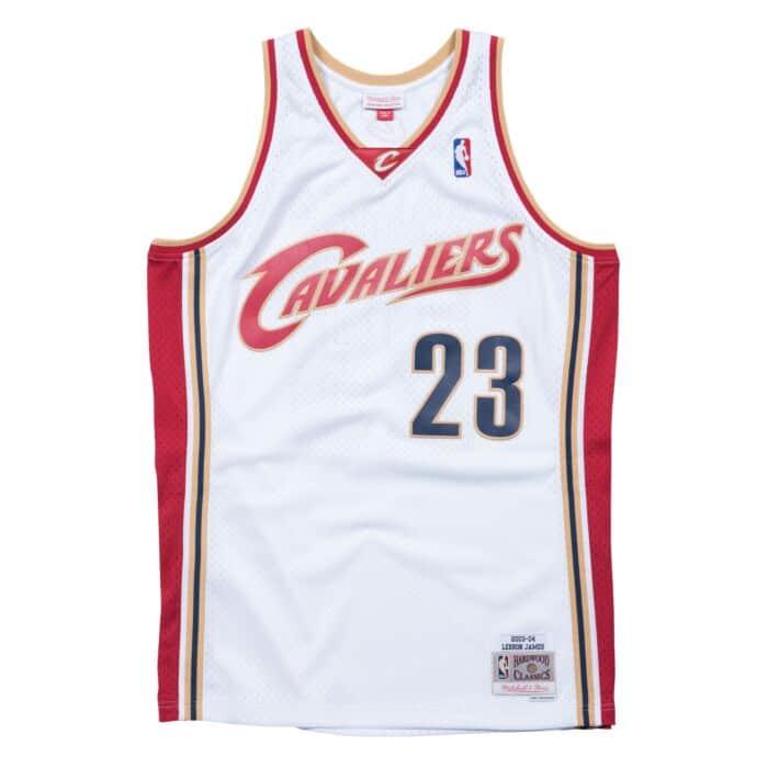 separation shoes 41431 16a93 Lebron James 2003-04 Home Cleveland Cavaliers Swingman ...