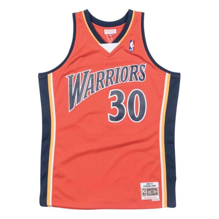 best service 55c67 d6d29 Stephen Curry 2009-10 Golden State Warriors Alternate ...