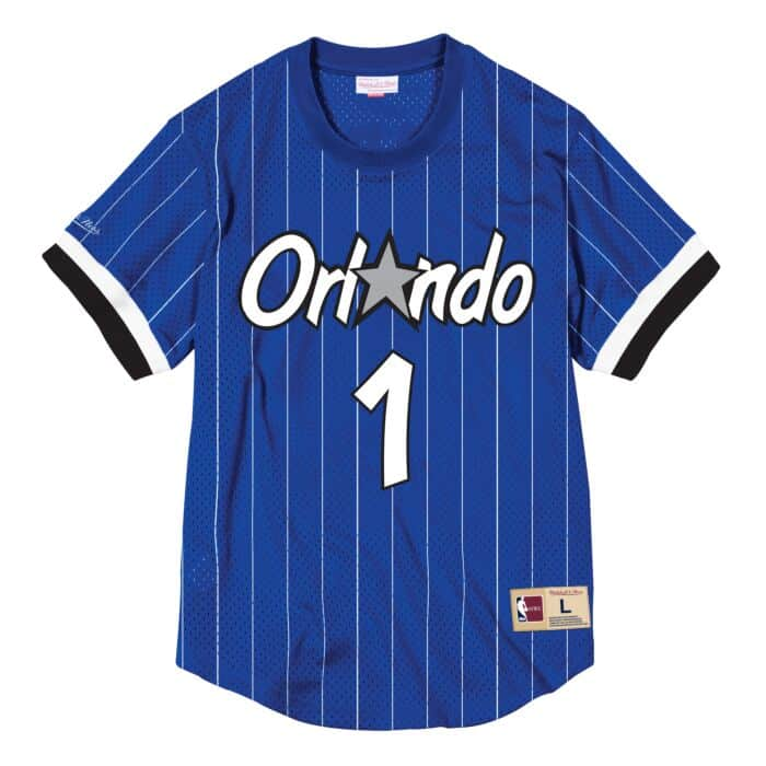 buy popular ad601 869a1 Penny Hardaway Name & Number Mesh Crewneck Orlando Magic ...