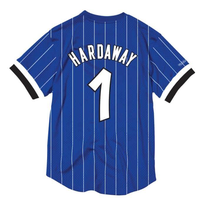 buy popular 95288 86432 Penny Hardaway Name & Number Mesh Crewneck Orlando Magic ...