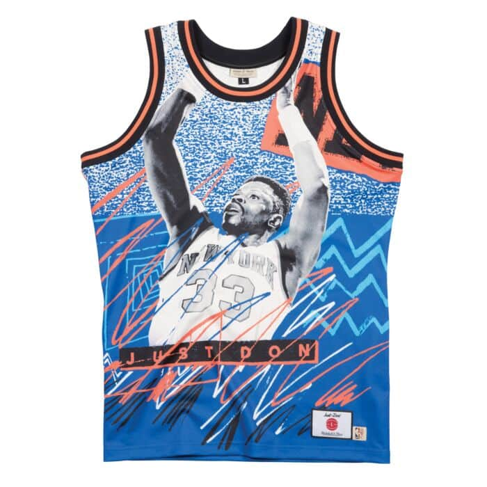 wholesale dealer c2a2a 89c50 Just Don Sublimated Jersey New York Knicks - Ewing + Starks ...