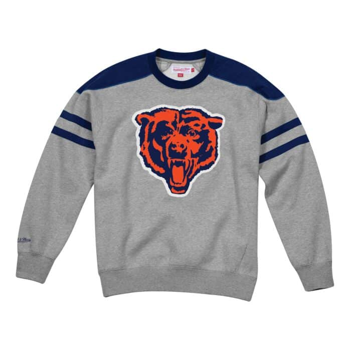 brand new f0049 6d997 Post Season Run Crew Chicago Bears Mitchell & Ness Nostalgia Co.