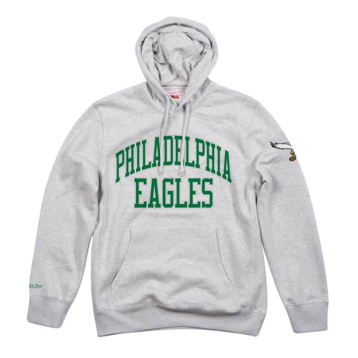 new style 02667 3ddad Playoff Win Hoody Philadelphia Eagles Mitchell & Ness ...