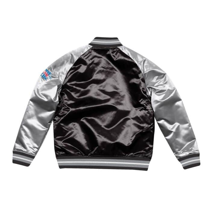 sale retailer eee76 9b2fe Tough Season Satin Jacket Oakland Raiders Mitchell & Ness ...