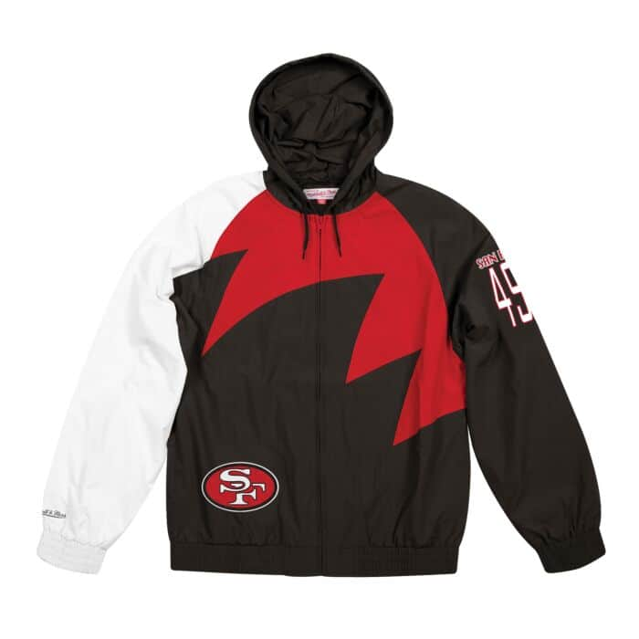 the latest 53df5 37601 Shark Tooth Jacket San Francisco 49ers Mitchell & Ness ...
