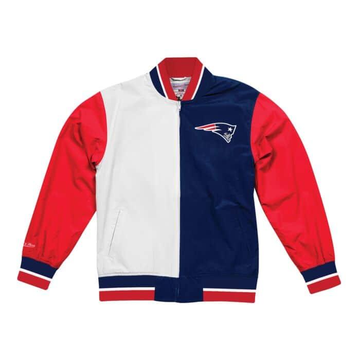 11ba10f2 Team History Warm Up Jacket 2.0 New England Patriots