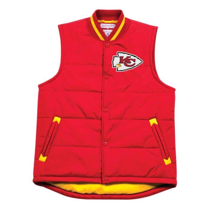 brand new 8b0e9 80373 Amazing Catch Vest Kansas City Chiefs