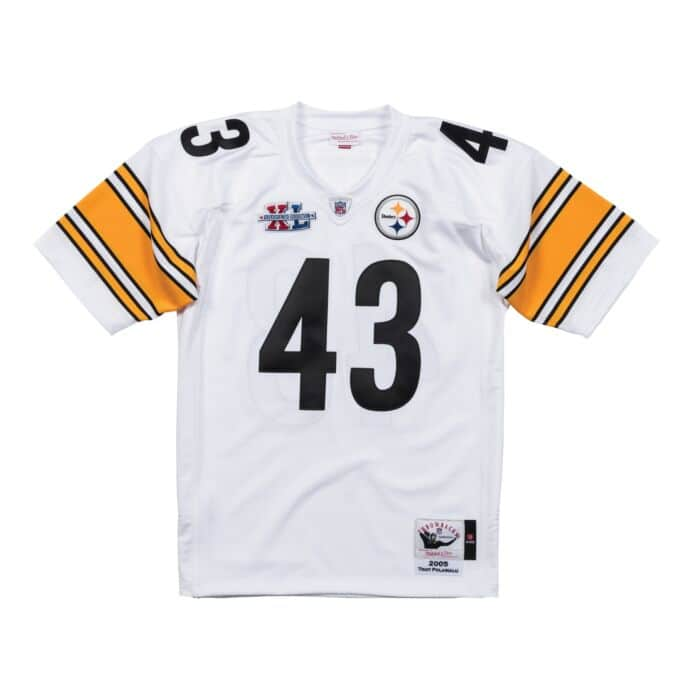 online store 3ab2d 8d0aa Troy Polamalu 2005 Authentic Jersey Pittsburgh Steelers