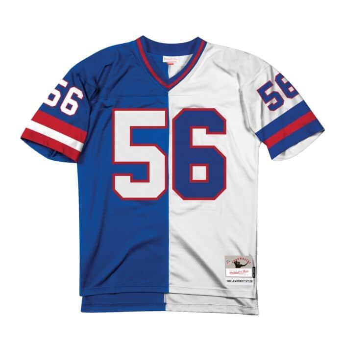 free shipping 33026 2a7e0 Split Home & Away Legacy Jersey New York Giants 1986 ...