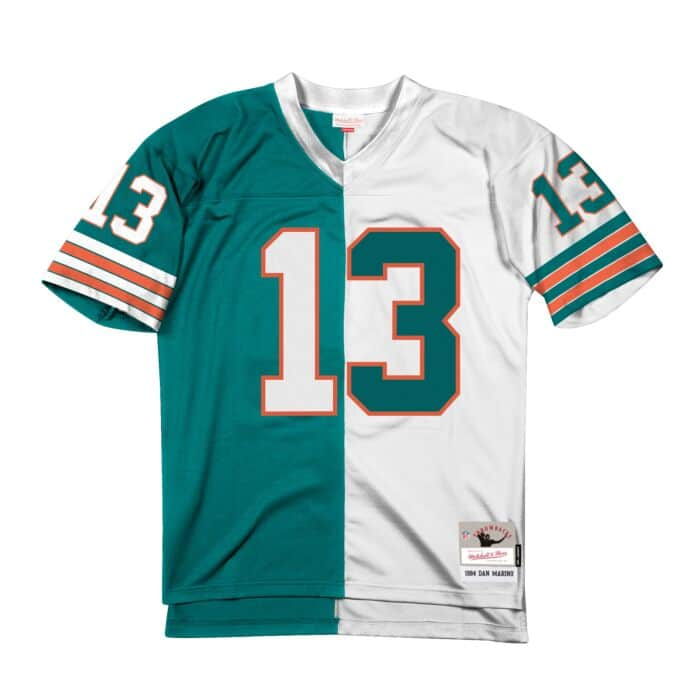 wholesale dealer 909e8 91fa5 Split Home & Away Legacy Jersey Miami Dolphins 1984 Dan ...