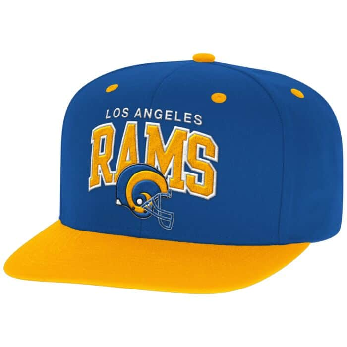 7dd53ff3 Arch with Logo Snapback Los Angeles Rams Mitchell & Ness Nostalgia Co.